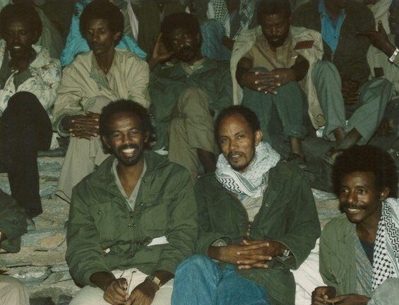 Sebhat Efrem at EPLF Congress